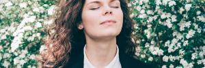 inhale through your nose