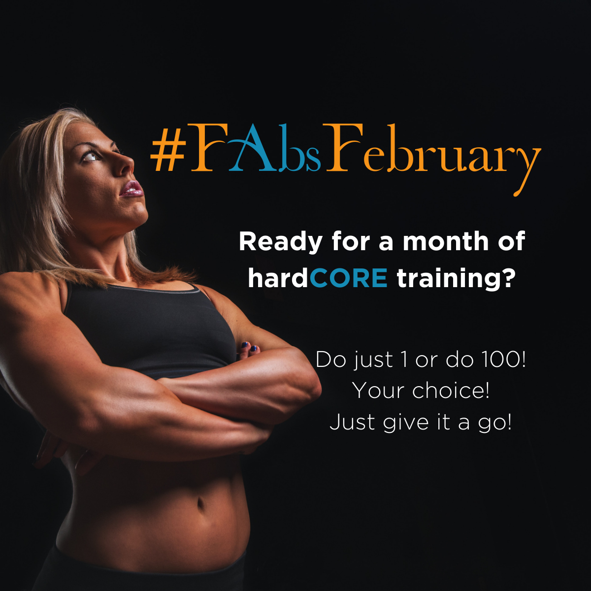 February Abs Challenge